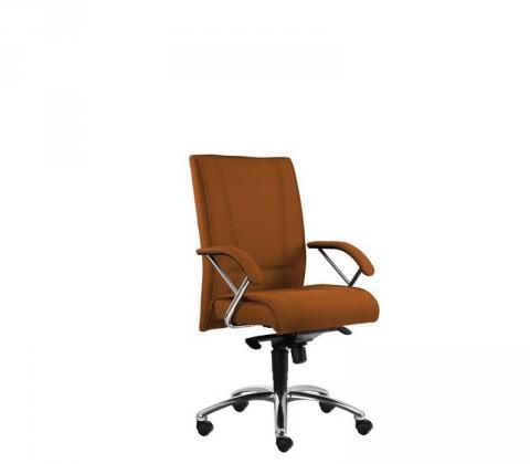 Kancelárske kreslo Demos Prof - Kancelárska stolička s opierkami (suedine 11)