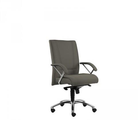 Kancelárske kreslo Demos Prof - Kancelárska stolička s opierkami (suedine 24)
