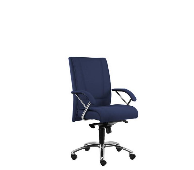 Kancelárske kreslo Demos Prof - Kancelárska stolička s opierkami (suedine 9)