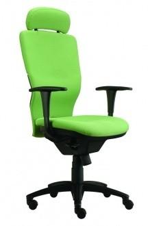 Kancelárske kreslo Ema šéf (Suedine 34, zelená)