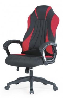 Kancelárske kreslo Herná stolička Experience čierna, červená