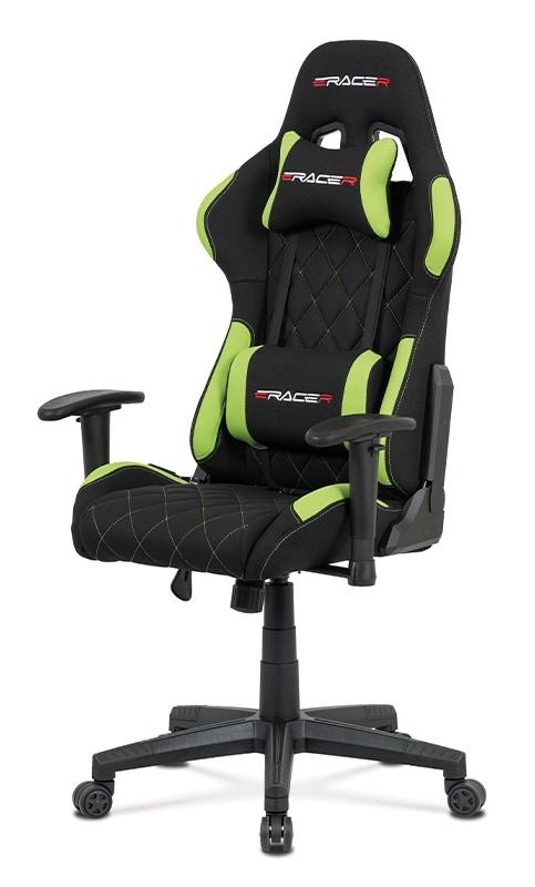 Kancelárske kreslo Herná stolička Powergamer zelená