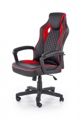 Kancelárske kreslo Herná stolička Thrasher čierna, červená