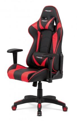 Kancelárske kreslo Herná stolička Wiper červená