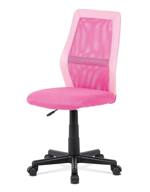 Kancelárske kreslo Kancelárska stolička Andrea ružová
