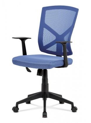 Kancelárske kreslo Kancelárska stolička Clara modrá