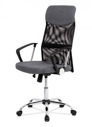 Kancelárske kreslo Kancelárska stolička Dagmar sivá