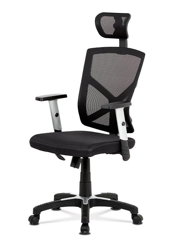 Kancelárske kreslo Kancelárska stolička Dalila čierna