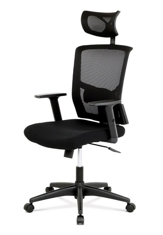 Kancelárske kreslo Kancelárska stolička Darina čierna