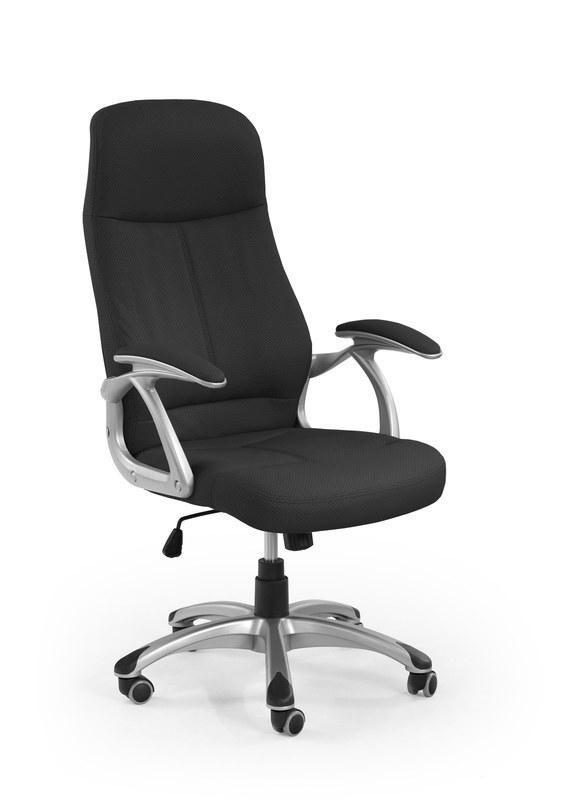 Kancelárske kreslo Kancelárska stolička Edison (čierna)
