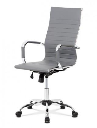 Kancelárske kreslo Kancelárska stolička Gisela sivá