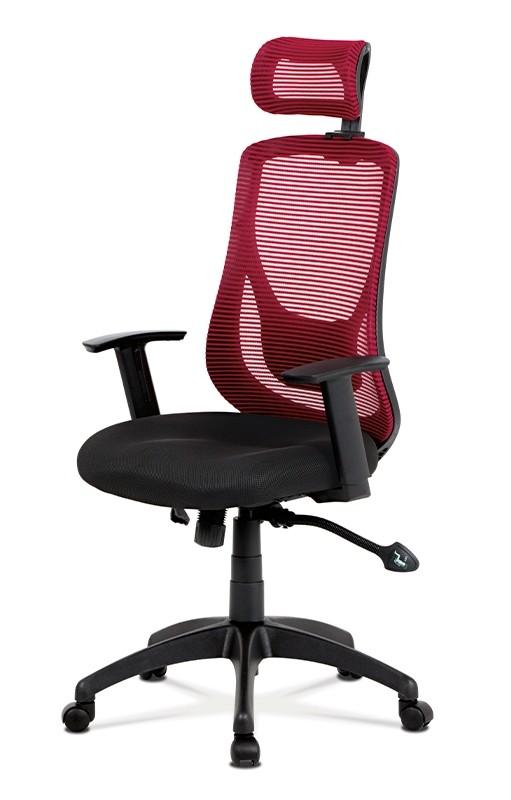 Kancelárske kreslo Kancelárska stolička Karina červená