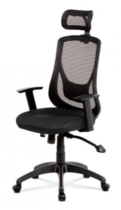 Kancelárske kreslo Kancelárska stolička Karina čierna