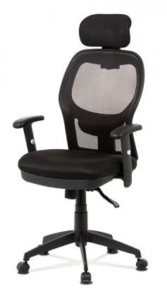 Kancelárske kreslo Kancelárska stolička Nora čierna