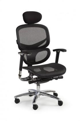 Kancelárske kreslo Kancelárska stolička President (čierna)