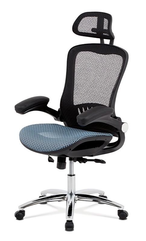 Kancelárske kreslo Kancelárska stolička Renée modrá