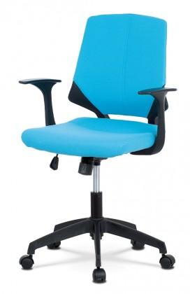 Kancelárske kreslo Kancelárska stolička Sabina modrá