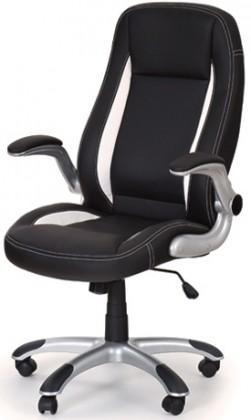 Kancelárske kreslo Kancelárska stolička Saturn (čierna)