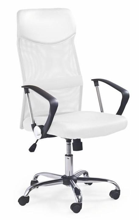 Kancelárske kreslo Kancelárska stolička Vire (biela)