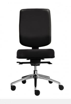 Kancelárske kreslo Notio Boss - bez podrúčok, synchro P (poťah - syntetická koža)