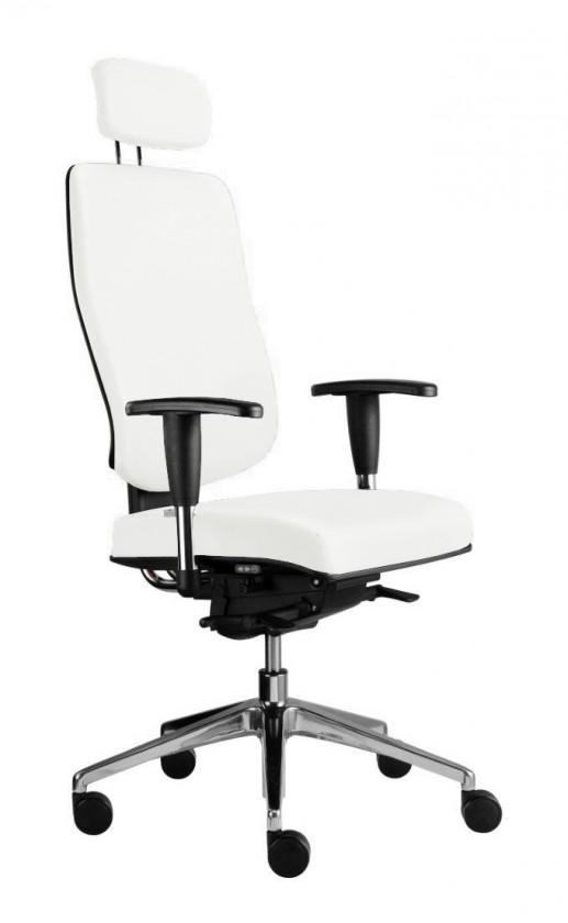 Kancelárske kreslo Notio Boss - s podrúčkami P93, podhlavník, synchro P (poťah - syntetická koža)
