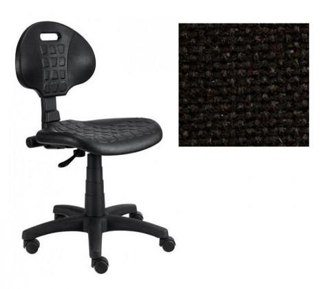 Kancelárske kreslo Piera - Dielenská stolička (antistatická, kĺb, čierna)
