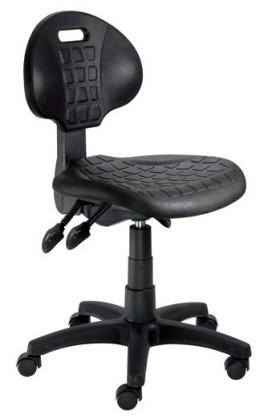 Kancelárske kreslo Piera - Dielenská stolička (E-asynchro, čierna)