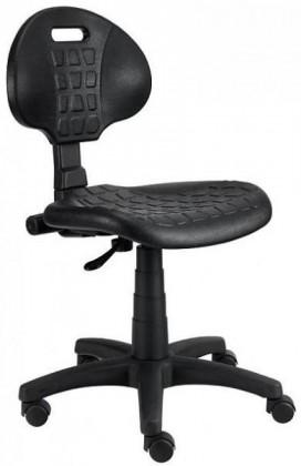 Kancelárske kreslo Piera - Dielenská stolička (kĺb, čierna)