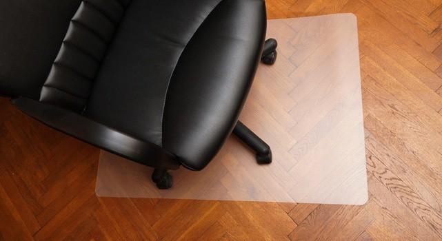 Kancelárske kreslo Podložka pod stoličku 80x100 (mliečna)