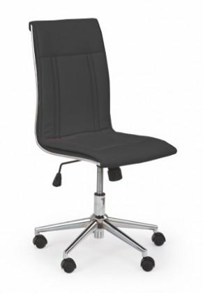 Kancelárske kreslo Porto - Kancelárska stolička, nosnosť 90 kg (čierna)