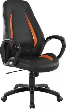 Kancelárske kreslo TIGER (Čierno-oranžová)