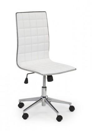 Kancelárske kreslo Tirol - kancelárska stolička (biela)
