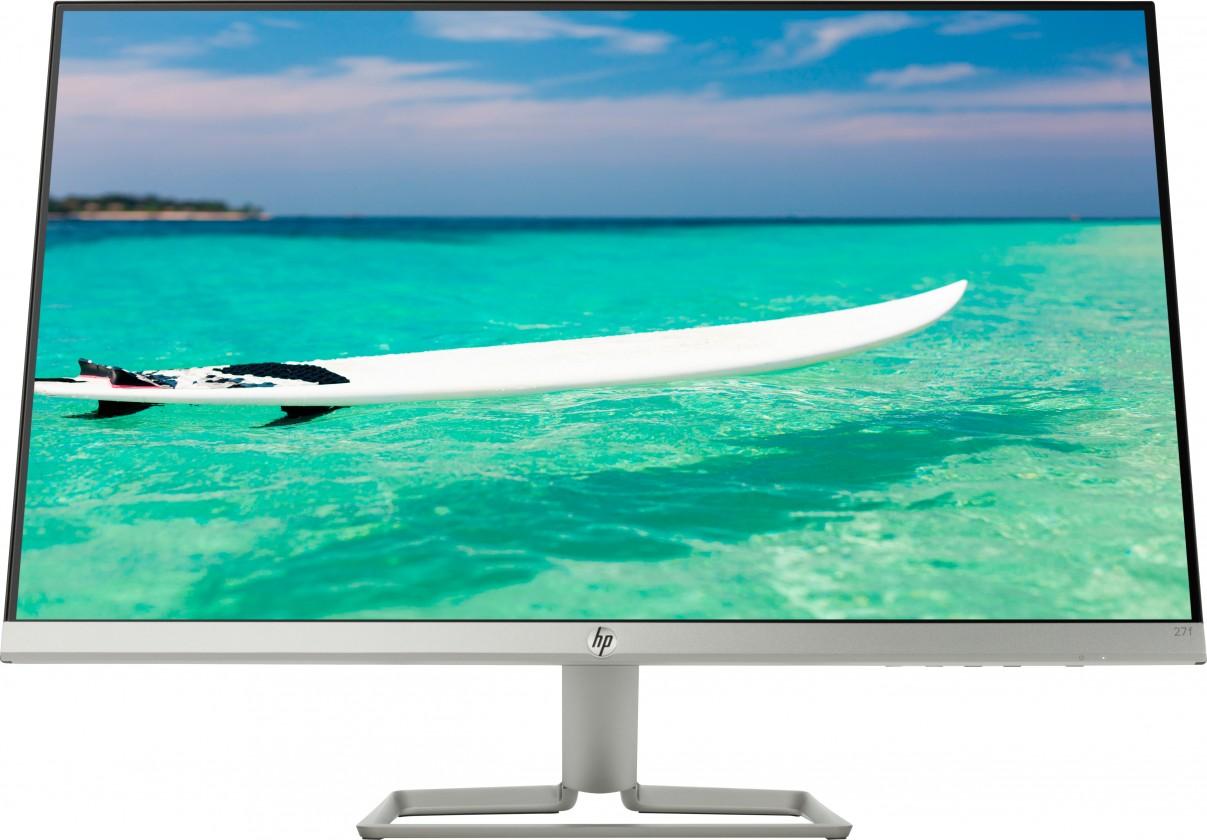 Kancelárske Monitor HP 27f, (2XN62AA), 27'', IPS, HDMI 2.0, strieborná
