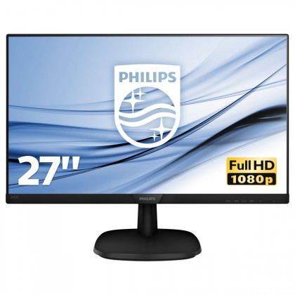 """Kancelárske Monitor Philips 27 """"Full HD, LCD, LED, IPS, 5 ms, 60 Hz, 273V7QJA"""