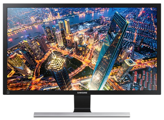 Kancelárske Monitor Samsung U28E590, 28'', 4K Ultra HD, čierny