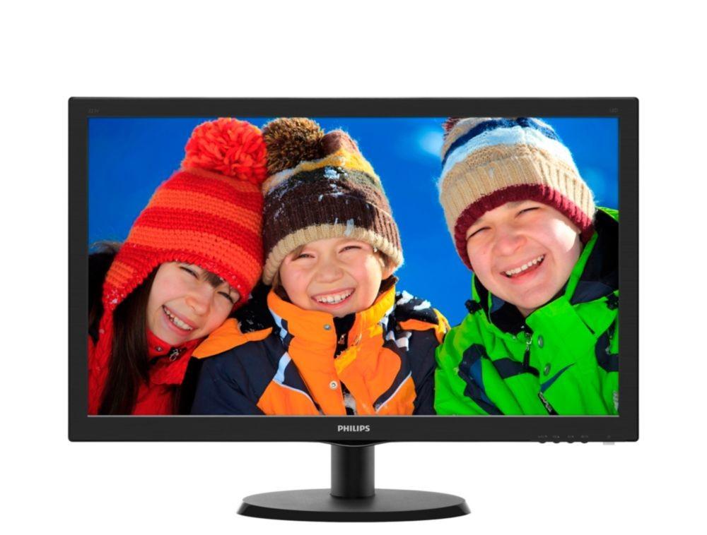 "Kancelárske Philips 223V5LHSB 21,5 ""HDMI 5ms ROZBALENÉ"