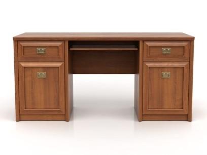 Kancelársky stôl Bolden BIU2D2S (Višňa primavera)