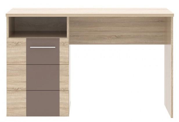 Kancelársky stôl Champion-CHPB21(kakao supermat / dub sonoma)