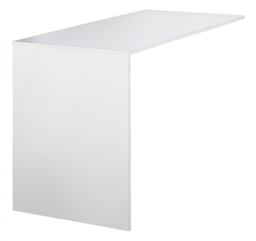 Kancelársky stôl GW-Altino - Přrdavný stôl (biela)