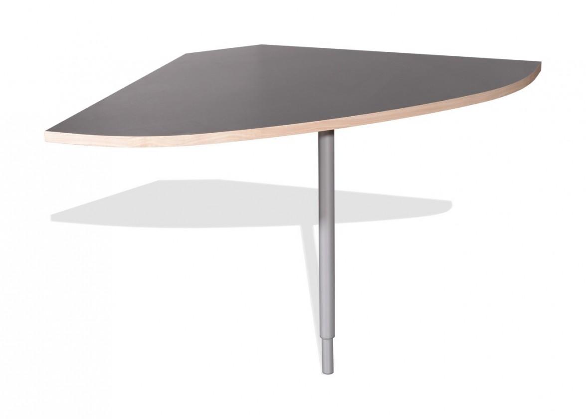 Kancelársky stôl GW-Duo - spojovací roh stola (antracit 1688)