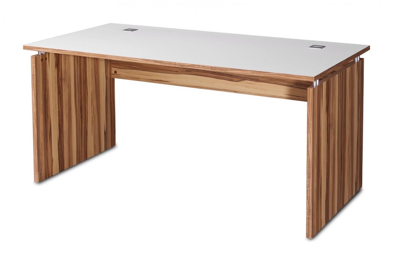 Kancelársky stôl GW-Linea - stôl (baltimorský orech / biela)
