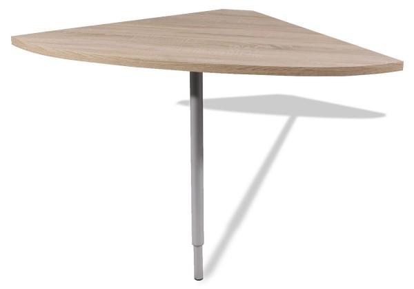 Kancelársky stôl GW-Master - Stôl,  výškově stavitelný (dub sonoma)