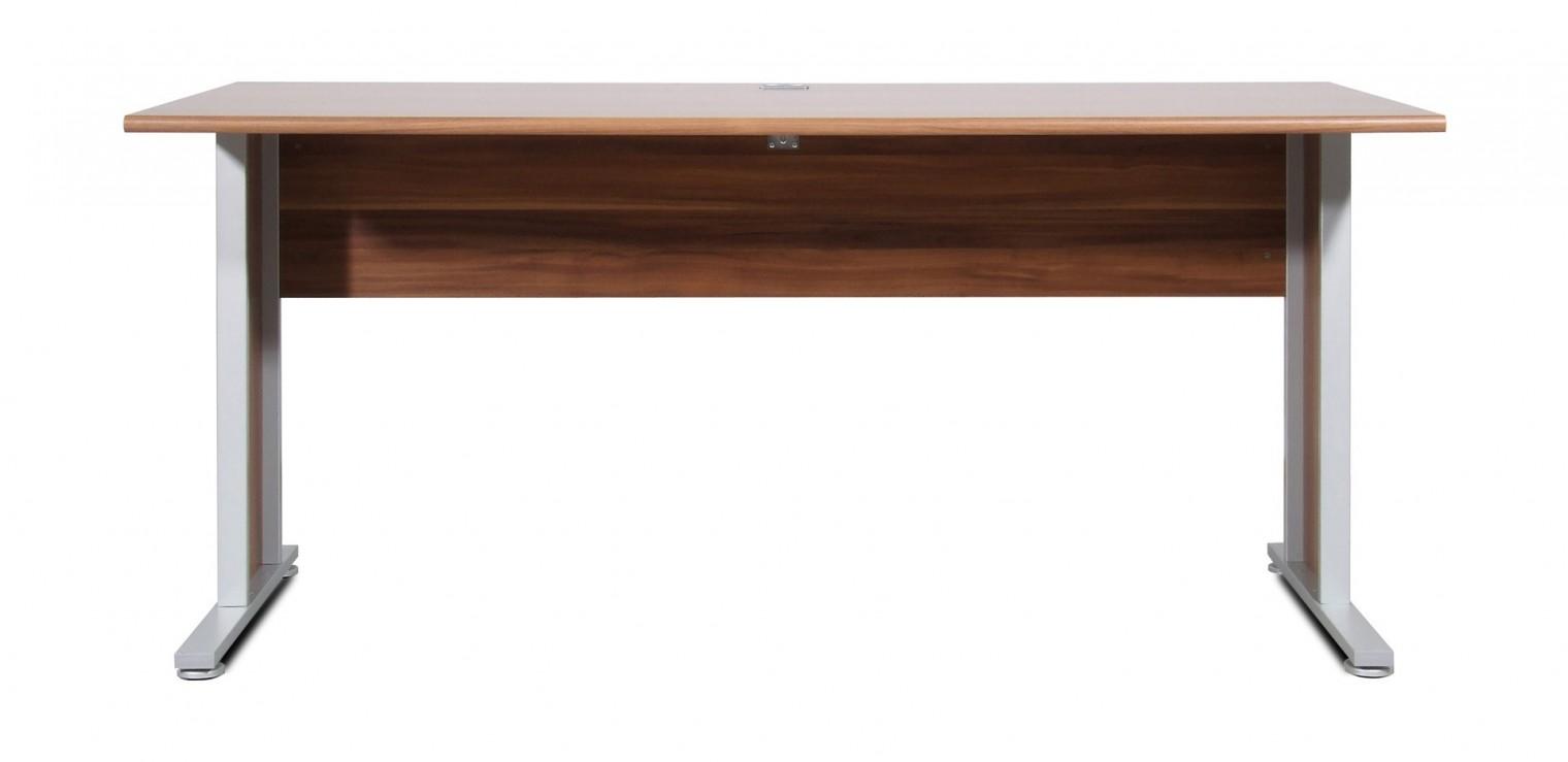 Kancelársky stôl GW-Power-Kancelárský stol,š. 160cm (orech)