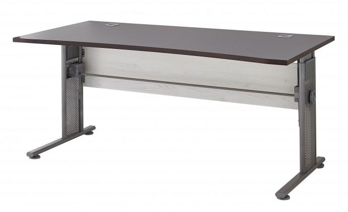 Kancelársky stôl GW-Profi - Výškovo nastaviteľný stôl (smrekovec/dub havana)