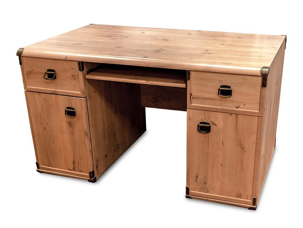 Kancelársky stôl INDIANA JBIU2D2S (Borovica antická)
