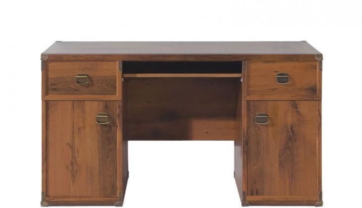 Kancelársky stôl INDIANA JBIU2D2S (Dub sutter)
