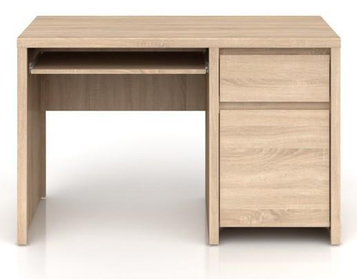Kancelársky stôl Kaspian BIU1D1S/120 (Dub sonoma)