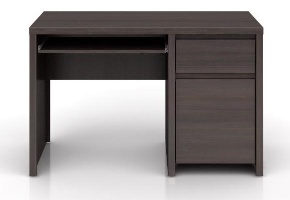 Kancelársky stôl Kaspian BIU1D1S/120 (Wenge)