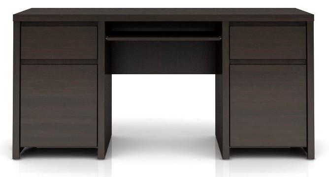 Kancelársky stôl Kaspian BIU2D2S/160 (Wenge)