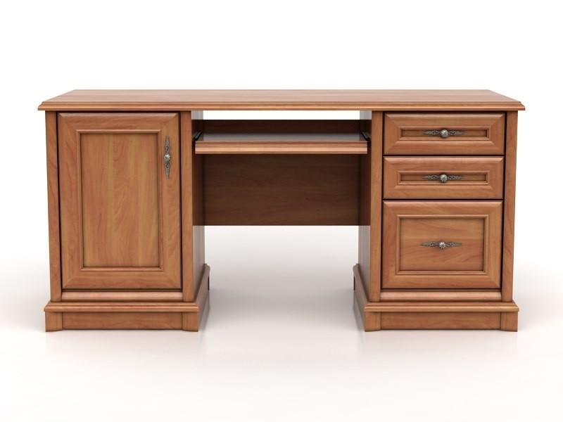 Kancelársky stôl Kent EBIU 158 K (Jabloň)